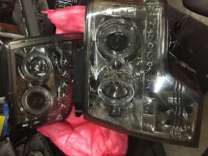 AFTERMARKET SPYDER HEADLIGHTS F150