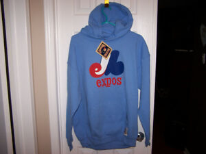 Large Montreal Expos Cooperstown Sweatshirt - new with tags