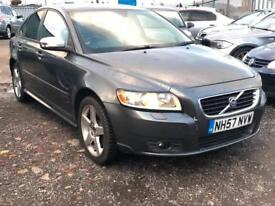 2008/57 Volvo S40 2.0D R-Design Sport LONG MOT EXCELLENT RUNNER