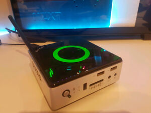 Zotac Zbox Nano AQ01 AMD mini PC quad core desktop media PC HTPC