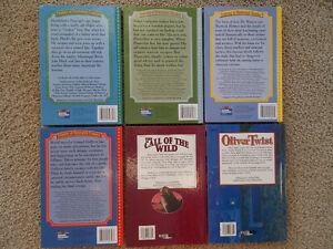 6 Hard Cover Classics-Adapted and Illustrated London Ontario image 2