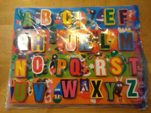 Puzzles for aged 3 - 5 - letter, construction vehicles, pirates.