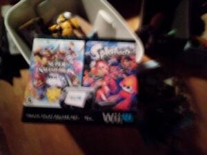 Wiiu spéciale édition noire jeux intégrés