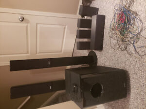 Home theater speakers for sell