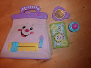 Fisher Price talking purse with a  few accessories Kitchener / Waterloo Kitchener Area image 1
