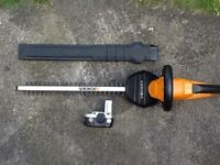 Worx WX260E Hedgetrimmer with 18v Battery