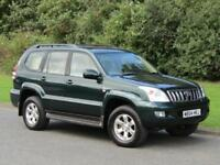 2004 Toyota Land Cruiser 3.0 D-4D LC4 Manual 5 Door 8 Seat Diesel 4x4
