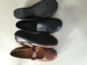 Leather shoes size 9 women's