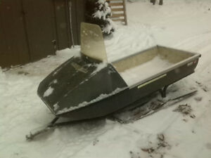 Snowmobile sled