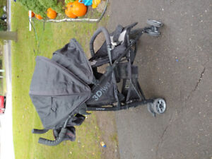 Summer Infant 3D two double stroller