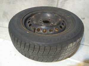 2000 Honda Accord Rims with Bridgestone Blizzak Tires Kitchener / Waterloo Kitchener Area image 1