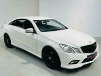 MERCEDES-BENZ E-CLASS E220 CDI SPORT AUTO WHITE 2 DOOR COUPE DIESEL W212 C207