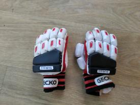 Gecko cricket batting gloves