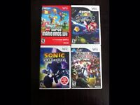 Wii games for sale & 1 3ds game