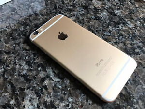 iPhone 6 - 16GB - Gold - Mint with cases - Rogers
