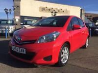 2012 62 TOYOTA YARIS 1.3 VVT-I TR 5D 98 BHP