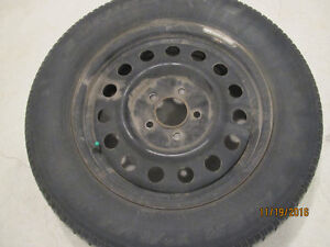 A set of 4 Uniroyal Tiger Paw ICE&SNOW TIRES on RIMS Kitchener / Waterloo Kitchener Area image 1