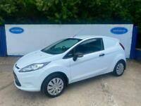 2009 Ford Fiesta 1.4TDCi ( 68PS ) Base Diesel Van In White NO VAT