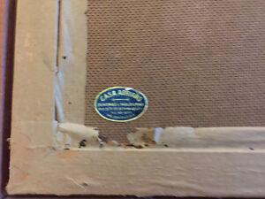 Antique Oil Painting signed ART Wood Frame on Board Gallery Oakville / Halton Region Toronto (GTA) image 5