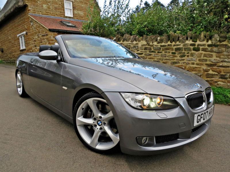 2007 BMW 335i SE CONVERTIBLE M-SPORT SUSPENSION. OVER £10K OF BMW OPTIONS !!