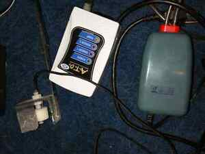 Jbj ATO auto top off stsem and pump. Plus heater controller
