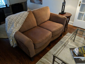 Upholstered chairs and love seat for sale