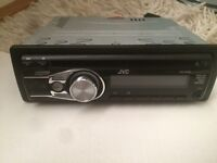 Jvc car stereo (aux radio head unit CD player)