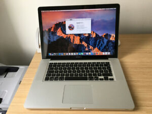 MacbookPro 15 (mid 2012)  2.7GHz Intel Core i7