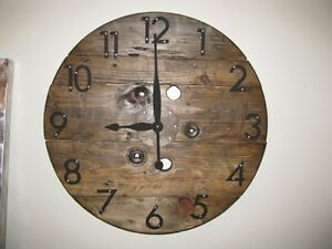 Cable Spool Clocks Kitchener / Waterloo Kitchener Area image 9