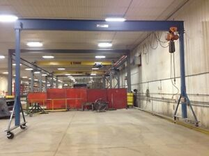 GORBEL 25FT X 6000LB GANTRY CRANE (ENGINEERED)