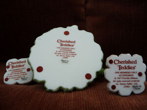 Cherished Teddies Accessories-Lamp Post, Fountain, Mail Bx-CT983 London Ontario image 3