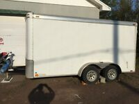 2011 Atlas Enclosed Cargo Trailer 7'x14'