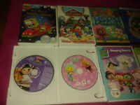 DVD's for kids $3 each or 6 for $15
