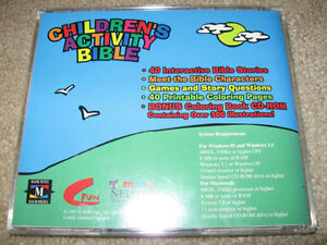 Children's Activity Bible for PC