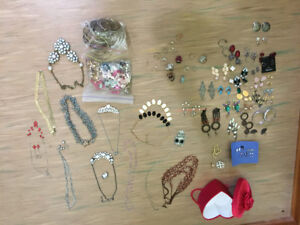 Large lot of costume jewellery