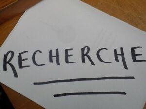 RECHERCHE Roulotte -21'