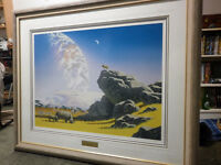 Schim Schimmel's  1992 signed and numbered print-
