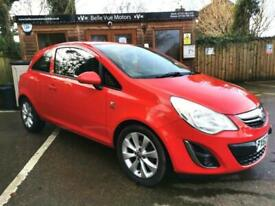 62 REG VAUXHALL CORSA 1.2i 12v ( 85ps ) ACTIVE IN RED