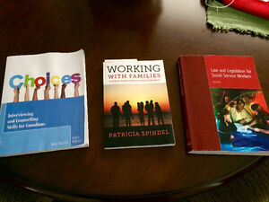 Social Service Worker (SSW) text books