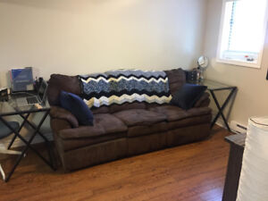 Good Condition Reclining Sofa Pick-Up Only West End $400 OBO