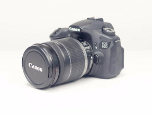 Canon 60D and Canon lens EF-S 18-200mm f/3.5-5.6 IS