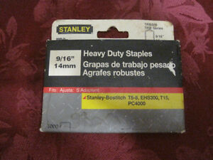 heavy duty staples -STRATHROY