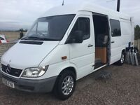 Mercedes sprinter motor home