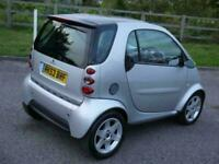 SMART CAR PASSION SOFTOUCH AUTO SILVER TOP OF THE RANGE SPEC NEW MOT ONLY £1495
