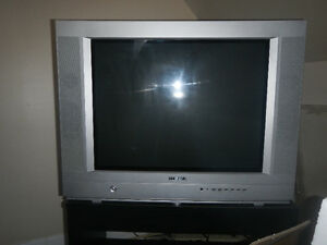 "27""colour TV Sanyo with remote & 25"" TV Konka with remote"