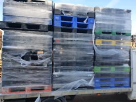 Plastic pallets 1200x1000 Each pallet £15