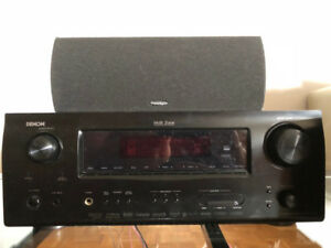 Denon AVR-1909 7.1 A/V Receiver + speakers - barely used