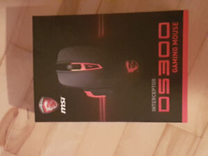 Souris GAMER MSI DS300 * Gaming Mouse