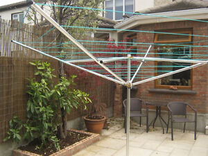 Umbrella / Rotary Clothes Drying Rack Kitchener / Waterloo Kitchener Area image 2