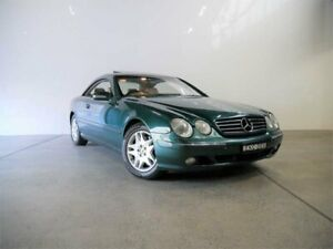 2000 Mercedes-Benz CL500 Alexandrite Green 5 Speed Sequential Auto Coupe